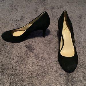 NWOB Vince Camuto Black Suede Heels